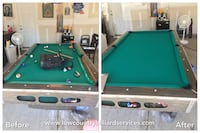 All your Pool Table Service needs!