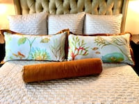 Custom Design King Shams and Bolster Frederick, 21702