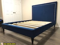 CUSTOM SOLID WOOD BED FRAME FACTORY