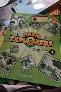 YOUNG EXPLORERS 1 CLASS BOOK ACTİVİTY BOOK