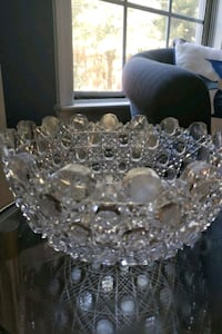 Czech Crystal Bowl