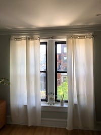 IKEA Merete Curtains - window treatments - 2 panels