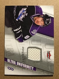 Los Angeles kings Drew Doughty jersey patch card Hamilton, L8S 4A3