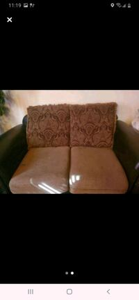 Two loveseats Antique