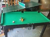 small multigame table features, table tennis, ches Mississauga