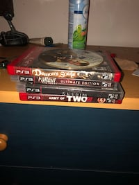 5 PS3 games Halifax