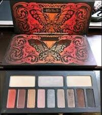 LOT DE 5 PALETTES KAT VON D VARIEES  LIQUIDATION TOTALE 100.00$ MONTREAL