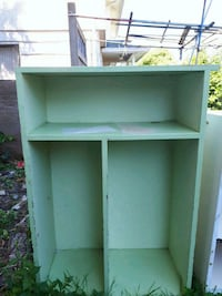 green wooden 3-layer shelf Delta, V4C 2T6