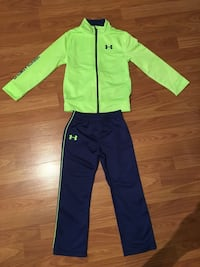 green and blue zip-up jacket and pants 1010 mi