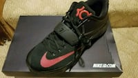 black-and-red Nike basketball shoes Upper Marlboro, 20774