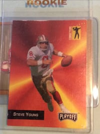 1992 Steve Young Rookie Card #287 2335 mi