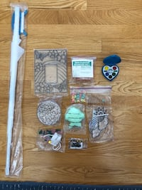 Assorted crafts and supplies