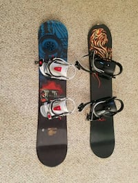 Youth snowboards with bindings Alexandria, 22308