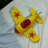 Early 60s Disney mickey mouse plane die cast