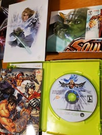 Xbox 360 Soul Caliber IV Collectors Edition Tin Toronto, M2J 0E1