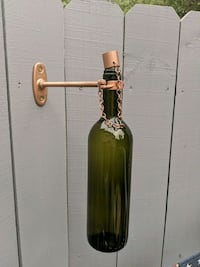 Wine bottle tiki torch wall mount Forest Hill, 21050