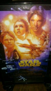 $tar wars framed pic Summerfield, 34491