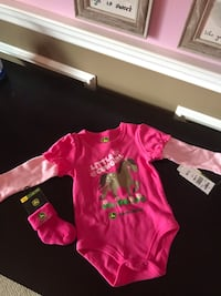 9 month John Deere onesie and socks Forked River, 08731