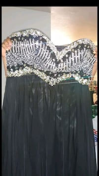 women's black and white dress South El Monte, 91733