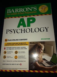 Barrons AP Psychology: 8th Edition (Study guide, DVD & online content)