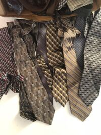 Men's ties ...entire box for $12.00 great condition