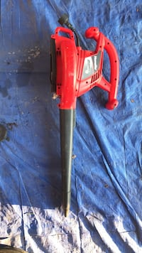 red and black electric string trimmer Chesapeake, 23322