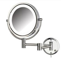 LED lighted Wall Mount makeup mirror  Germantown