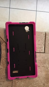 black and pink smartphone case Raleigh, 27603