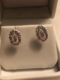 Virgin Mary sterling silver studs and pendant  Whittier, 90606