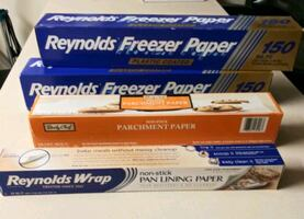 Baking and Freezer Paper