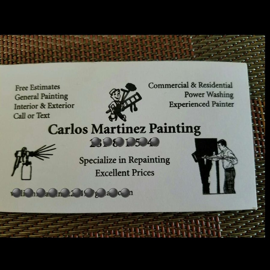Carlos Martinez Painting
