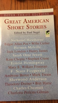 Great american short stories by paul negri Toronto, M9N 3V8
