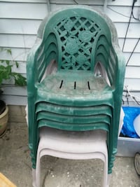 6 lawn chairs Columbus, 43223