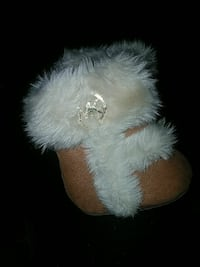 Micheal Kors size 1 baby boots Baltimore, 21225