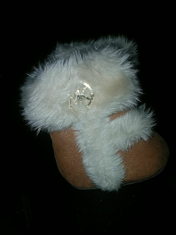 Micheal Kors size 1 baby boots