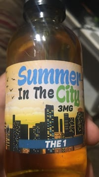 Summer In The city The 1 3 MG bottle