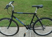black and blue hardtail mountain bike New Port Richey, 34652