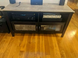 TV entertainment stand with Porcelain top