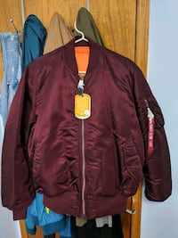 BRAND NEW Alpha industry jacket LARGE Toronto, M3L 2M3
