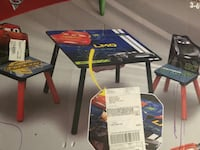 Cars 3 kids table Milford, 03055