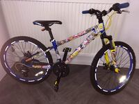 purple and black Mongoose full-suspension bike Watford, WD25 7SL