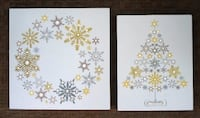 2 Brand New Lighted Christmas wall decorations Port Saint Lucie