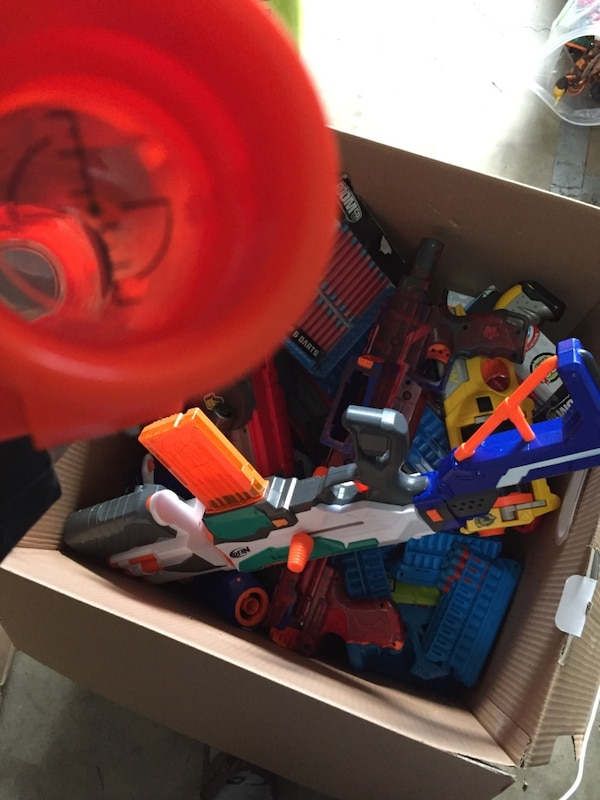 $75!!Nerf and boomco lot (with ammo) ce637ab6-2031-4238-8c42-5d6159ca7014