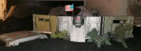 GI Joe Headquarters and accessories