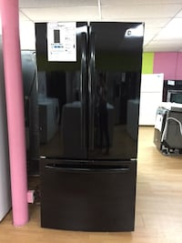 BRAND NEW GE black French door refrigerator  Woodbridge, 22191