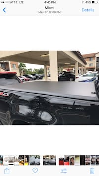 2018 Chevy Colorado Truck Bed Cover, Long Bed Miami, 33177