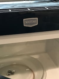 Microwave under cabinet. Black. Maytag 51 km