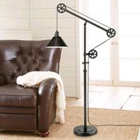 Floor Lamp with Pulley  Toronto, M6K 1G3