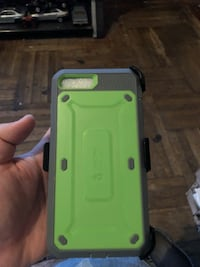 green and gray iPhone case New York, 10468
