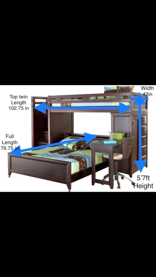 Bunk Bed Twin over Full 16016095-7676-4062-ae54-dec4db5c9430